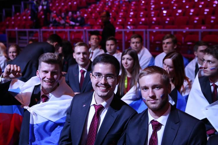 Участники сборной Euroskills.
