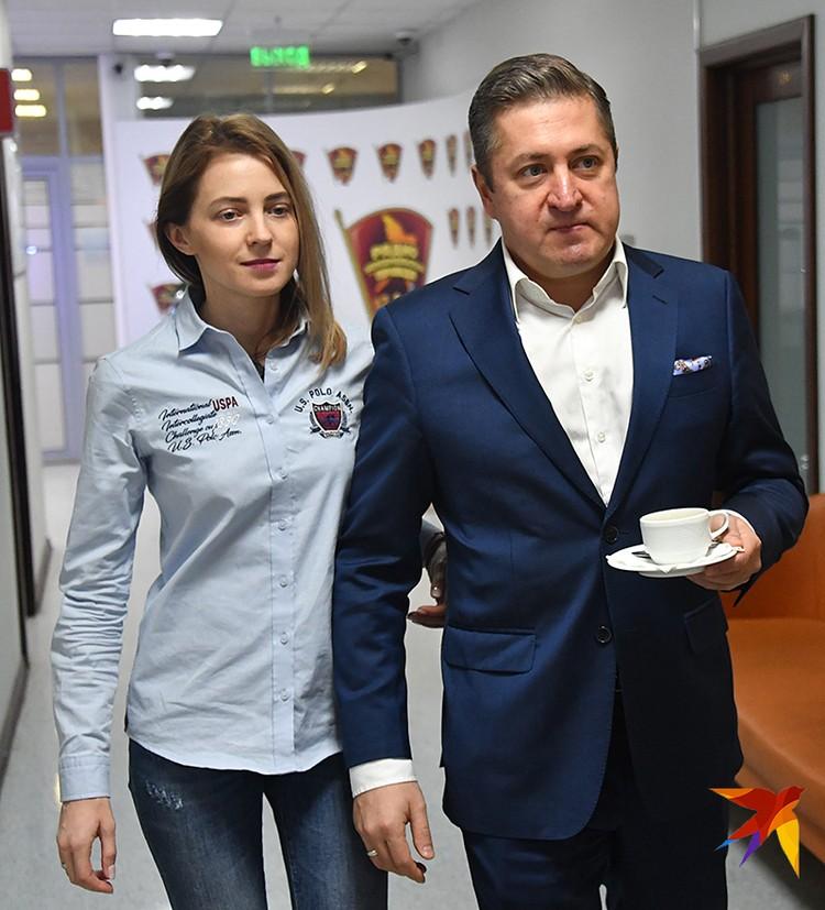 Наталья Поклонская и ее муж Иван Соловьев в гостях у «Комсомолки»