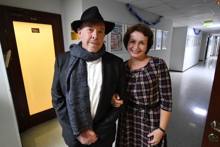 Музыкант и редактор КП Наталия Андреассен