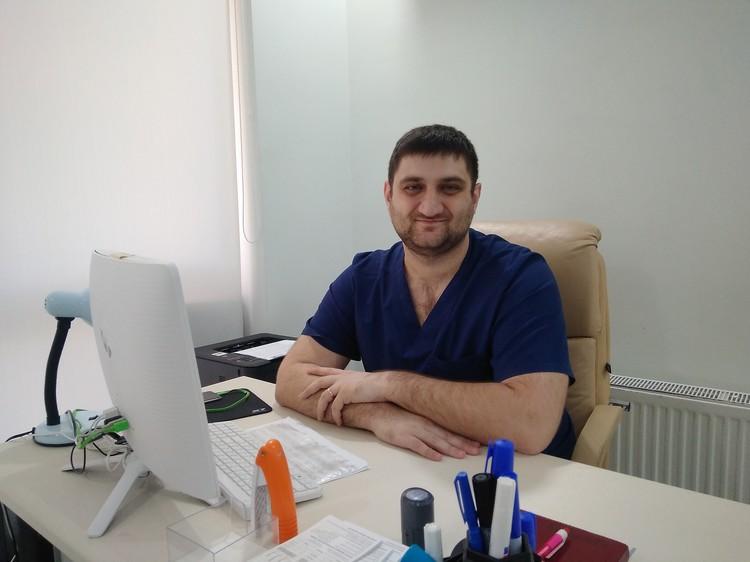 Хирург-флеболог Сергей Магакелян
