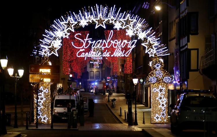 Перестрелка произошла рядом с рождественской ярмаркой в Страсбурге
