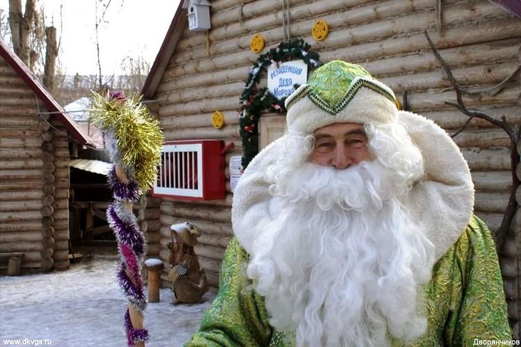 Дед Мороз ждет в гости. Фото: Сергей Дворянчиков.