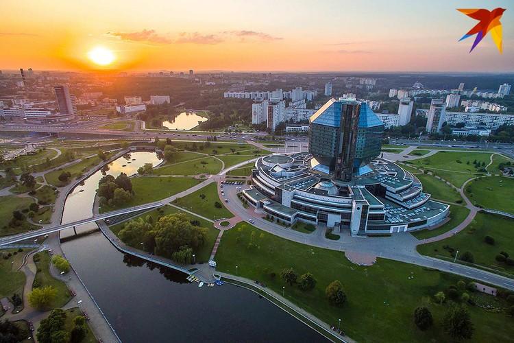 На совещании с активом Минска президент говорил о том, как выглядит столица
