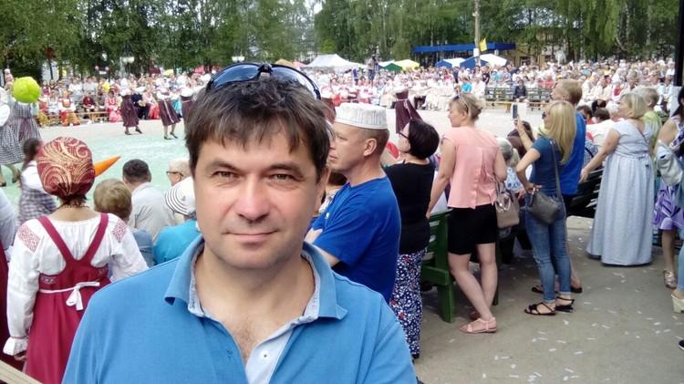Владимир Колов уже 19 лет создает пиротехнические шоу в Республике Коми. Фото из личного архива героя