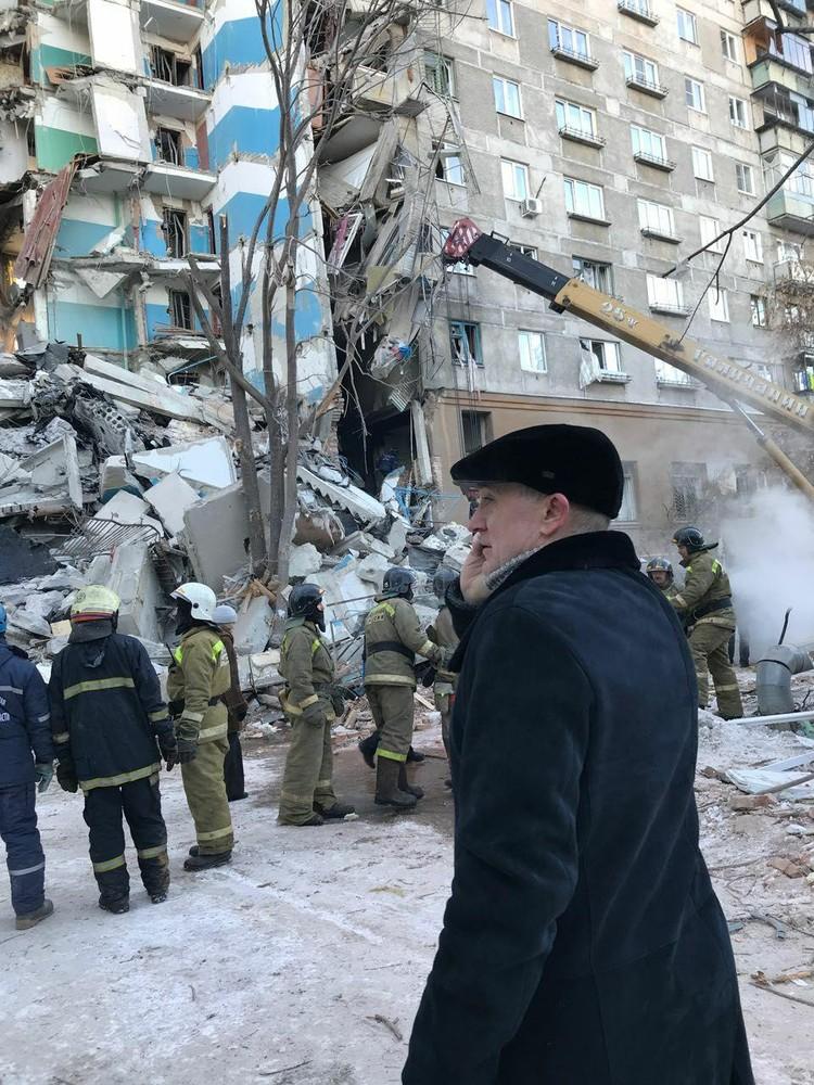 На месте ЧП работает глава региона Борис Дубровский. Фото: пресс-служба губернатора Челябинской области.