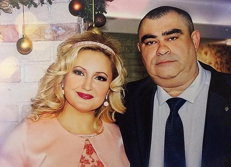Боевая женщина Альбина Галиева с мужем Салаватом.