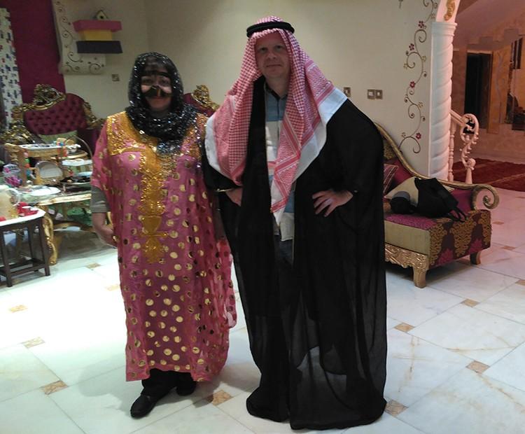 Наш корреспондент попробовал себя в роли шейха