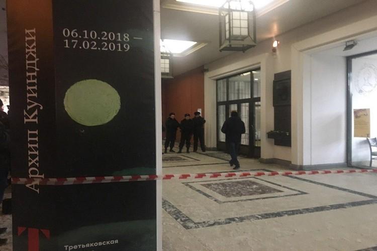 Шедевр похитили из Третьяковской галереи на глазах посетителей