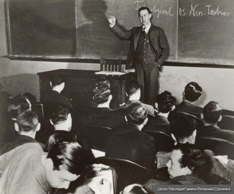 Лекция в Гарвардском университете