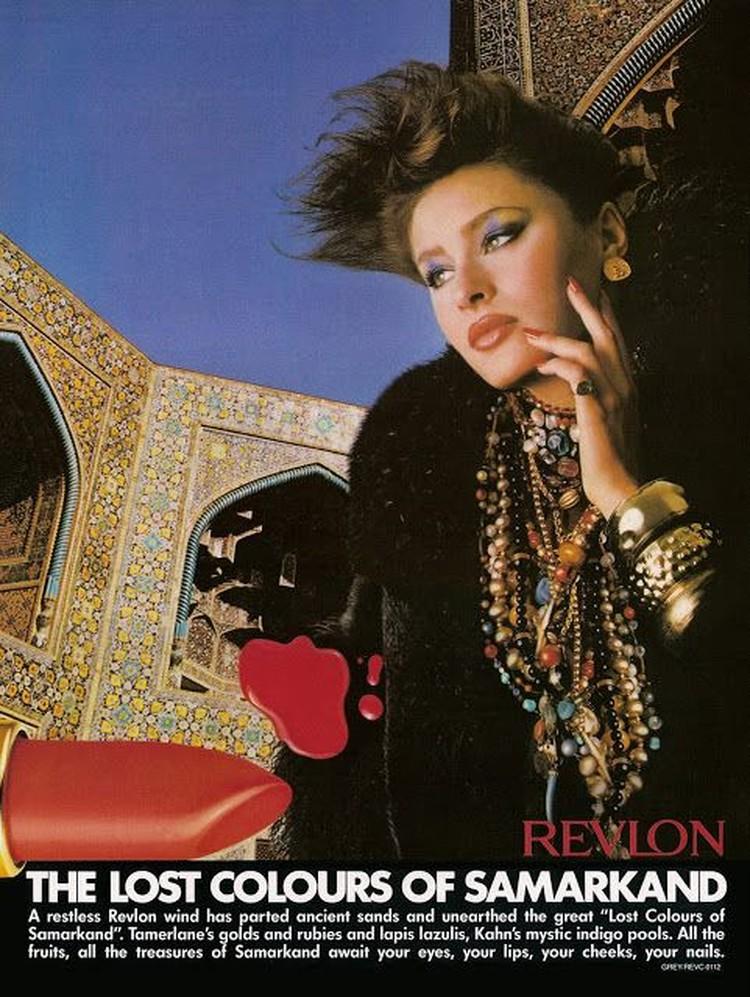 Урбано сотрудничала со многими известными марками, в том числе с Revlon. Фото: соцсети.
