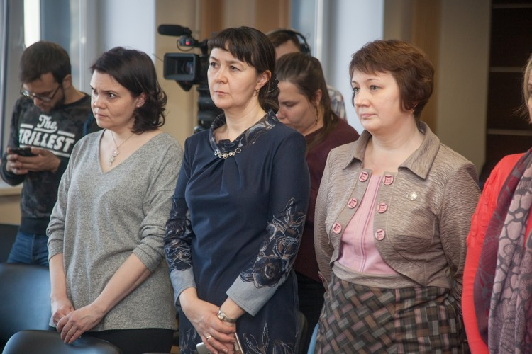 Учительница Наталия Шагулина и родители учеников просили оставить приговор без изменений.