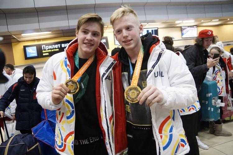 Первые медали международного класса в жизни спортсменов