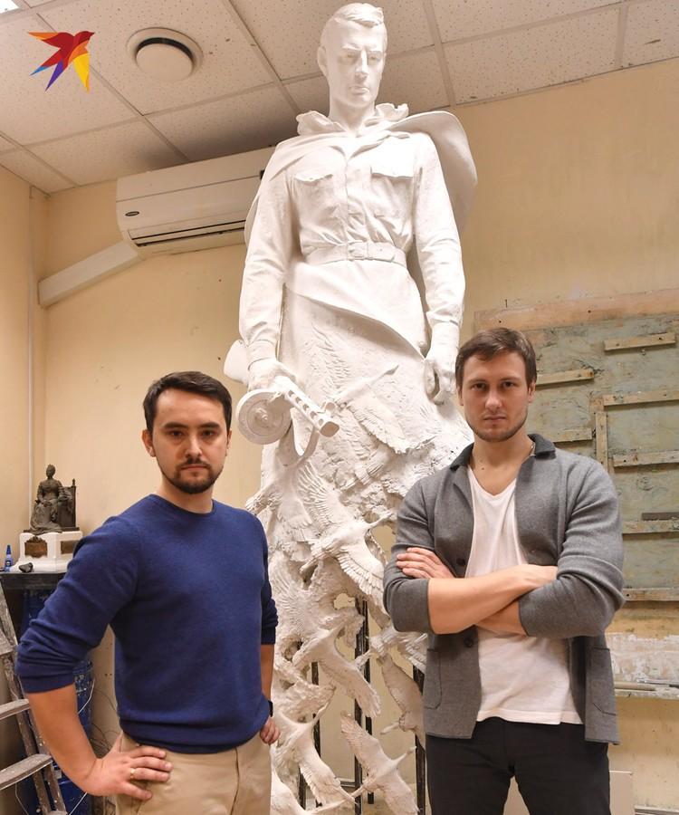 Андрей Коробцов и Константин Фомин стали победителями конкурса на лучший проект Ржевского мемориала.