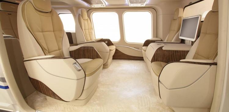 Так выглядит салон вертолета в VIP-компоновке. Фото: redsearch.org.
