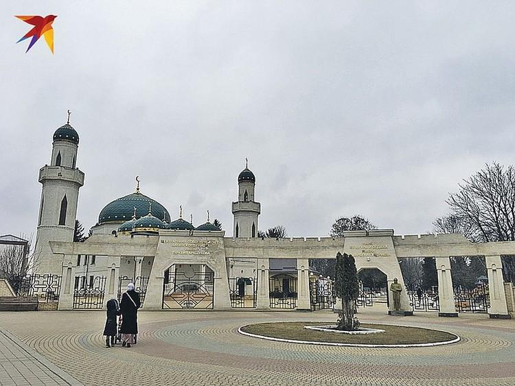 ...и мечеть имени Арашукова.
