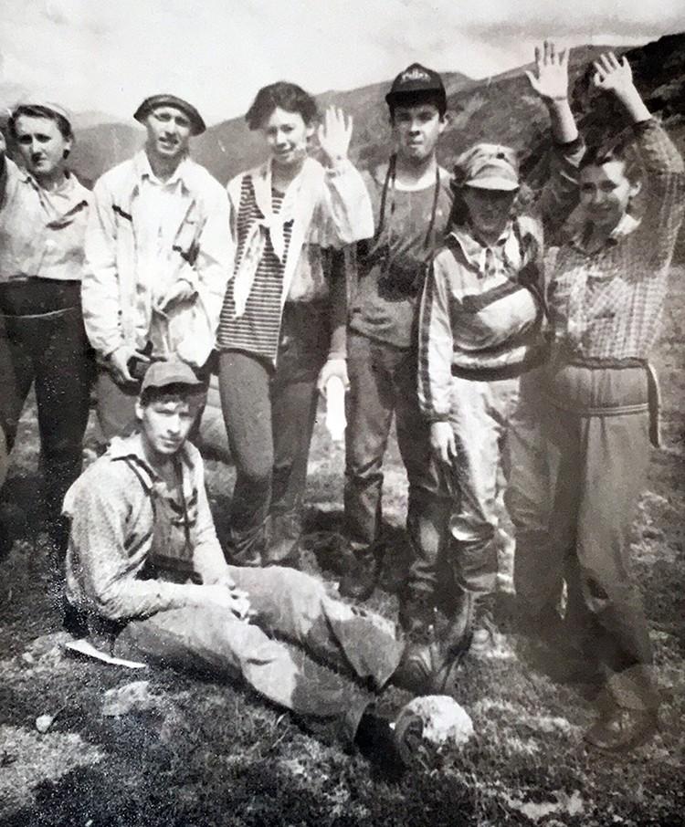 В августе 1993 года в Восточных Саянах внезапно умерли шесть туристов из Казахстана. Фото: Архив Галины Бапановой