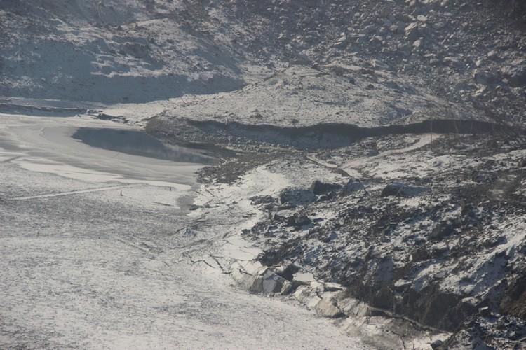Оползень не только создавал проблемы Бурейской ГЭС, но и поселкам расположенным выше по течению