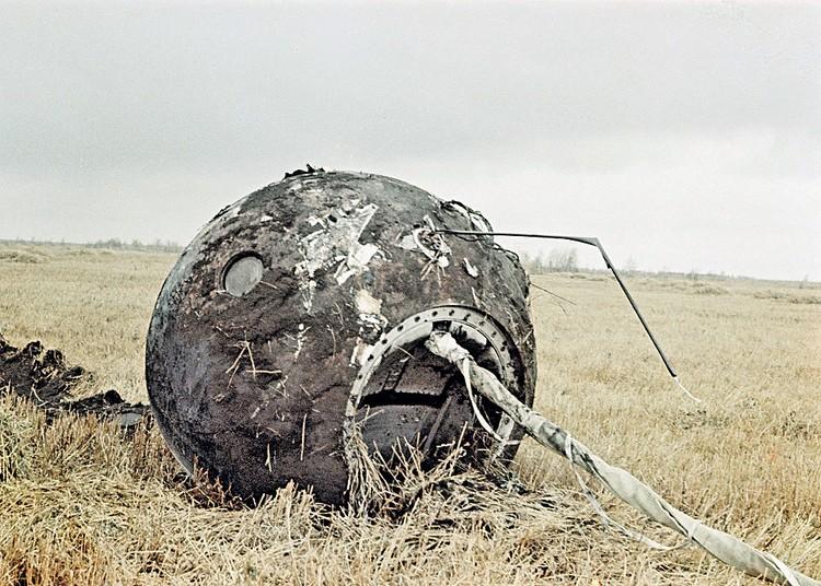 Спускаемый аппарат «Востока».