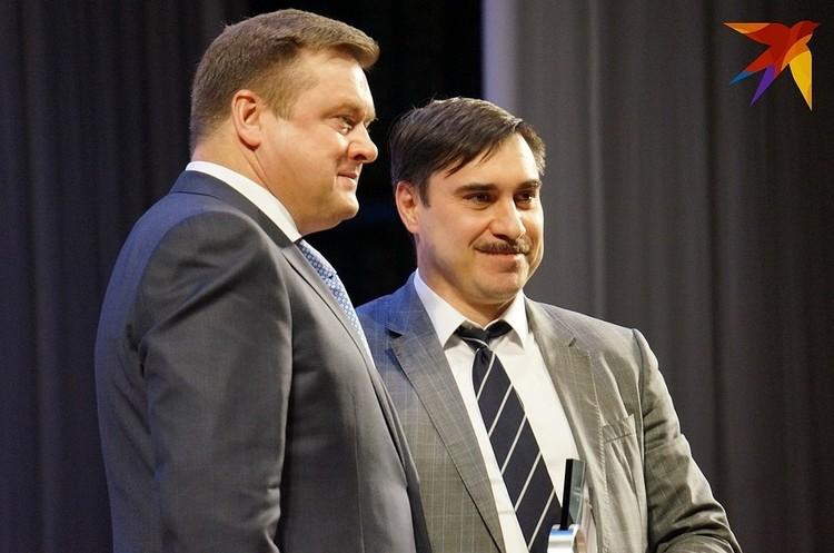 Главврача ОКБ Дмитрия Хубезова назвали человеком года в номинации «Здравоохранение».