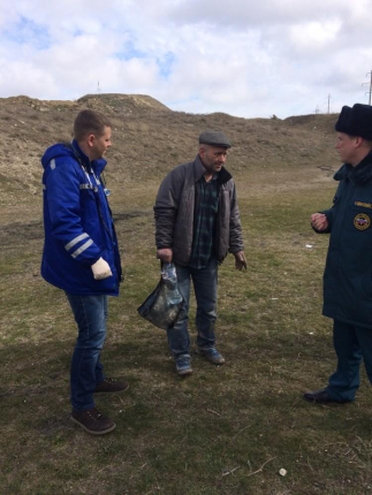 В спасательной операции участвовали спелеологи и сотрудники МЧС. Фото: пресс-служба МЧС по Крыму
