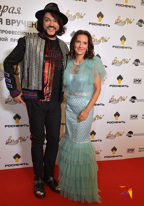 Филипп Киркоров на красной дорожке премии BraVo
