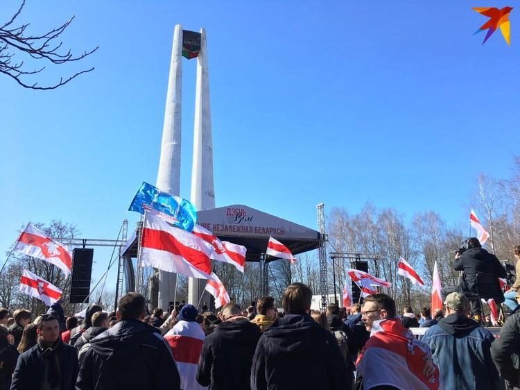 Концерт в Гродно в честь БНР-101. Фото: Ника КОВАЛЕВА
