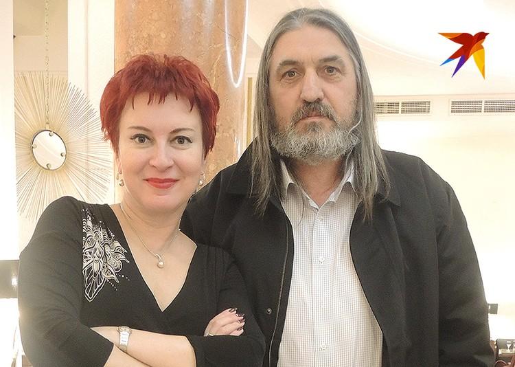 Дарья Асламова с легендарным сербским разведчиком Югославом Петрушичем.