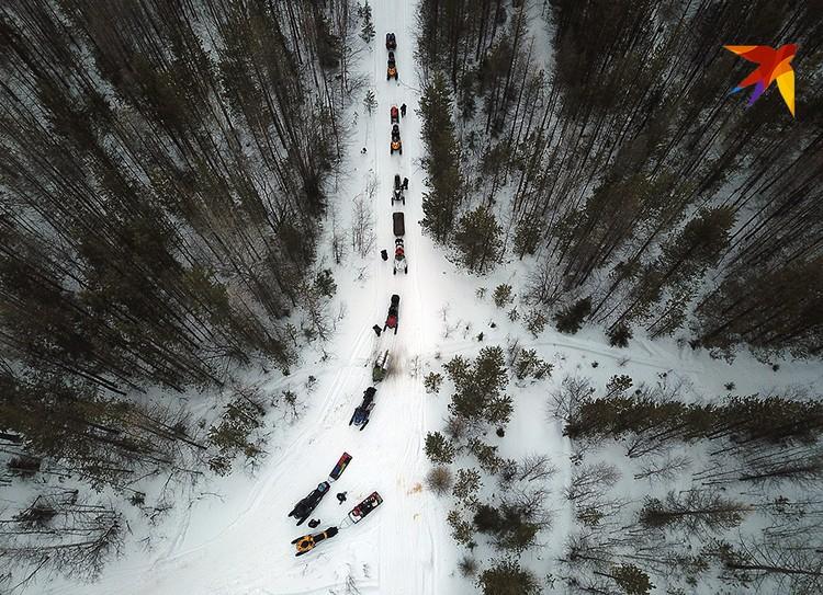 «Экспедиция «Комсомольской правды» и телеканала «Россия 1» на перевал Дятлова