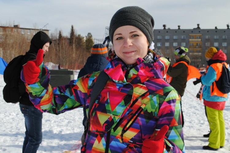 Ольга Смолина раньше только наблюдала за «снежными боями», а теперь решила уйти в игру с головой.