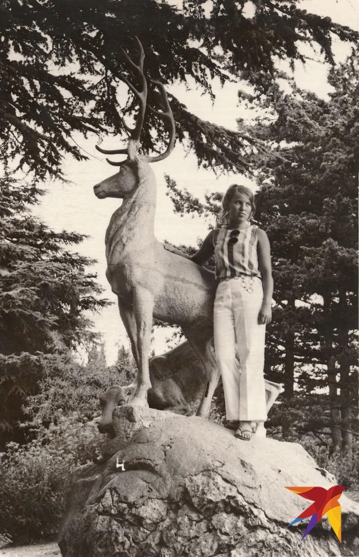 На отдыхе в Крыму, 1970 год. Фото: из личного архива В. Матвиенко. Предоставлено специально для «КП». Публикуется впервые.
