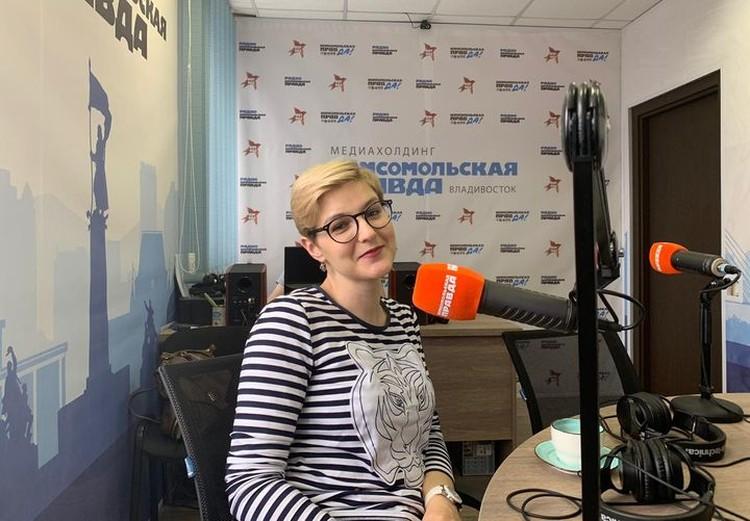 Политолог Ольга Кишаковская в эфире радио «Комсомольская правда» - Приморье»