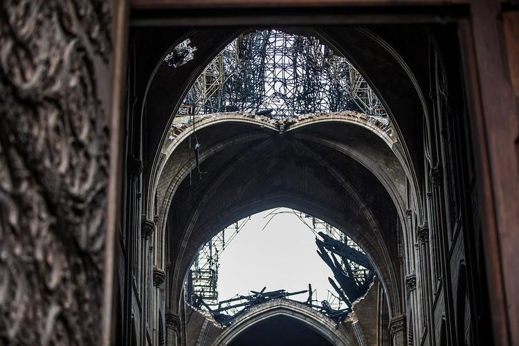 Kрыша с перекрытиями XIII века погибла