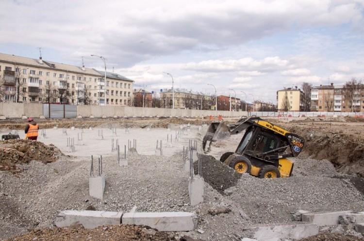 В планах строительства сквера на месте сгоревшей «Зимней вишни» появились изменения. ФОТО: АКО