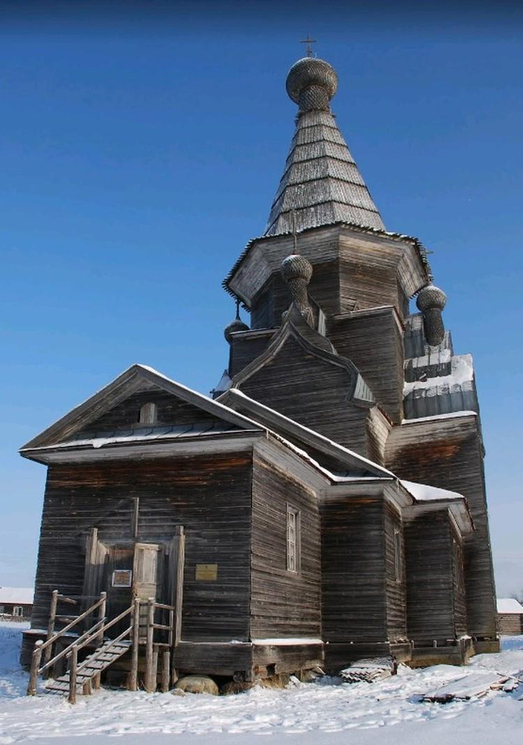 Церковь Вознесения Господня в Пияле. Фото GOOGLE