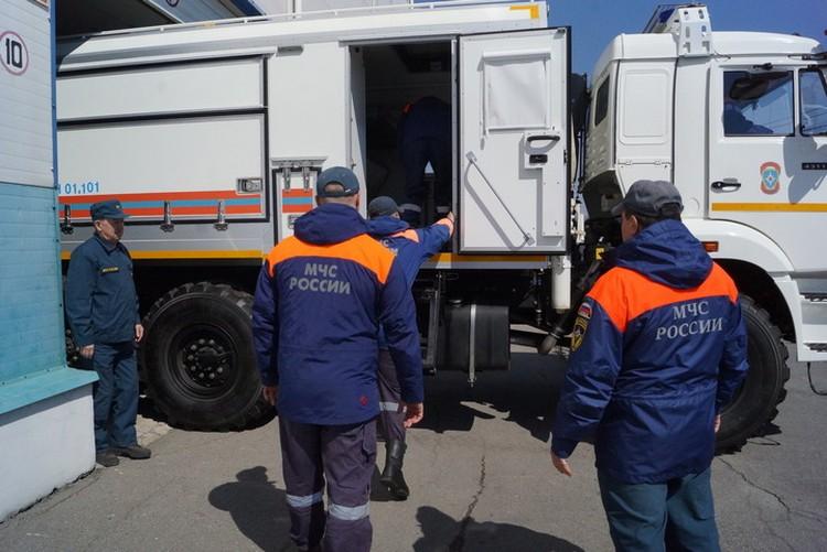 Вторая группировка спасателей отправилась на «бурейскую аномалию»