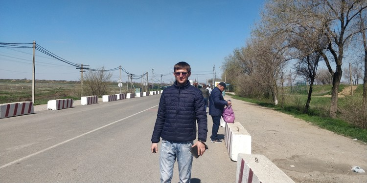 Житель Днепра уже несколько лет живет в Крыму