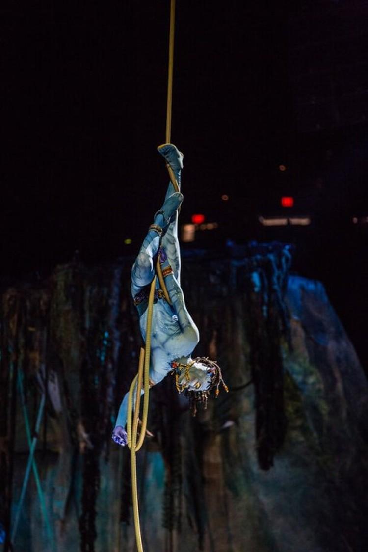 В шоу работает многонациональная команда. Фото: Пресс-служба Cirque du Soleil