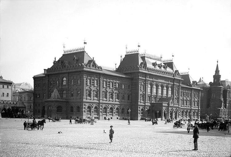 Московская городская дума. 1897 – 1900. Фотография предоставлена Главным архивным управлением Москвы