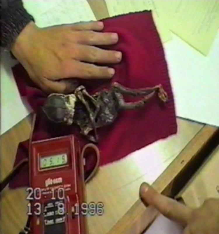 Кыштымского карлика проверили даже на радиацию. Она оказалась в норме
