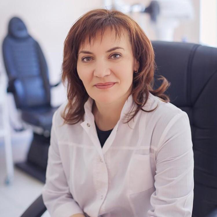 Марина Прозорова, врач-офтальмолог высшей категории
