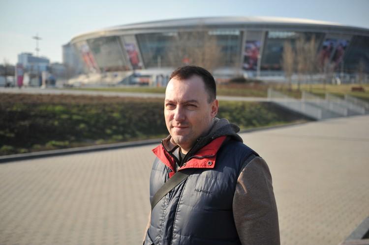 Александр Воскобойников - коренной одессит, но дорога домой ему заказана