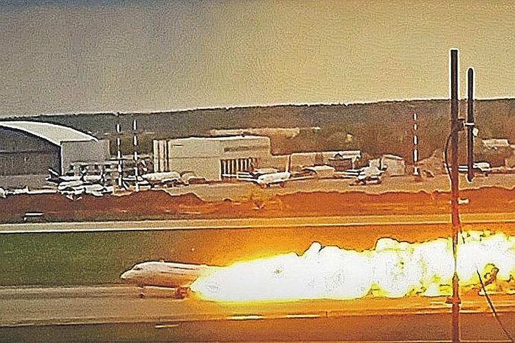 В пожаре погиб 41 человек - 40 пассажиров и бортпроводник