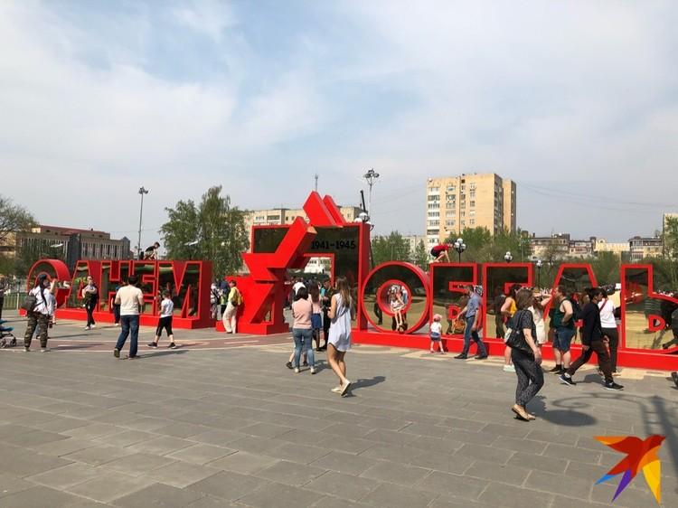 Арт-объект на площади 400-летия Тюмени