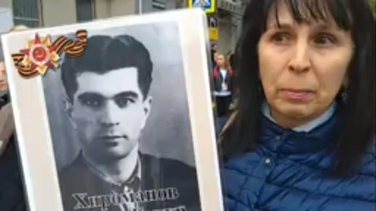 Хироманов Абдул-Гапур Курбан Алиевич ушел на фронт в 17 лет.
