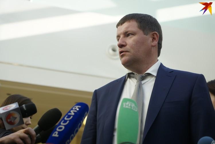 Сергей Бидонько дал понять, что сквер не сохранят