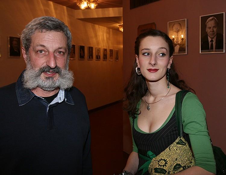 Сергей Цигаль с дочерью актриссой Мариэттой Цигаль-Полищук