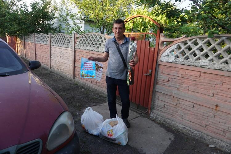 Андрей Лысенко не первый год проведывает оставшихся ветеранов.