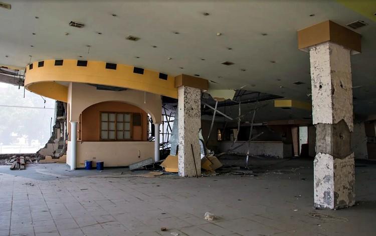 Кафе, расположенное в здании «Авроры». Фото: facebook.com/vladimir.verbitskiy
