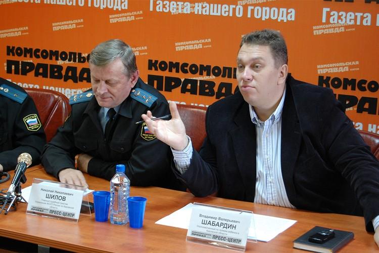 2007 год – Владимир Валерьевич уже не возглавлял «КП», а приходил в качестве гостя в пресс-центр. Фото: архив «КП»