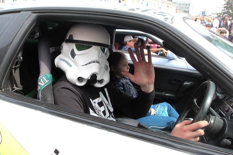 Рискнут ли полицейские останавливать такого водителя?